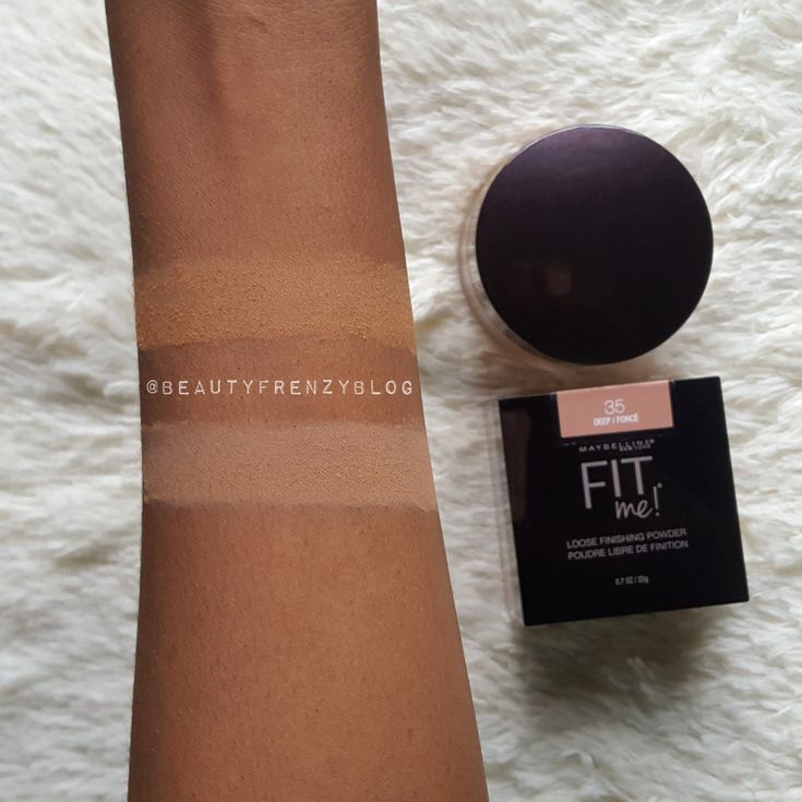 Maybelline fit me loose finishing powder review best