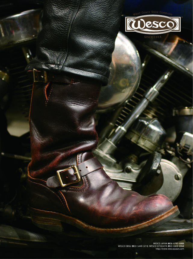 The Boss: Burgundy Leather...I admit it, I love boots like a woman loves heels