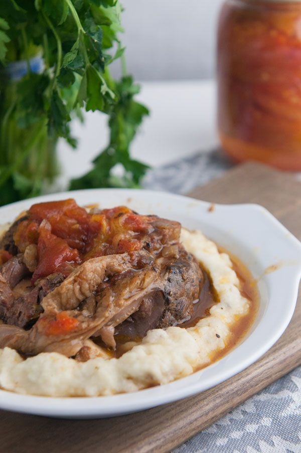 Italian Braised Beef Shanks Recipe is a savory, comforting recipe well-suited for cold nights. This slow cooked dish makes for a tender and moist beef dinner.