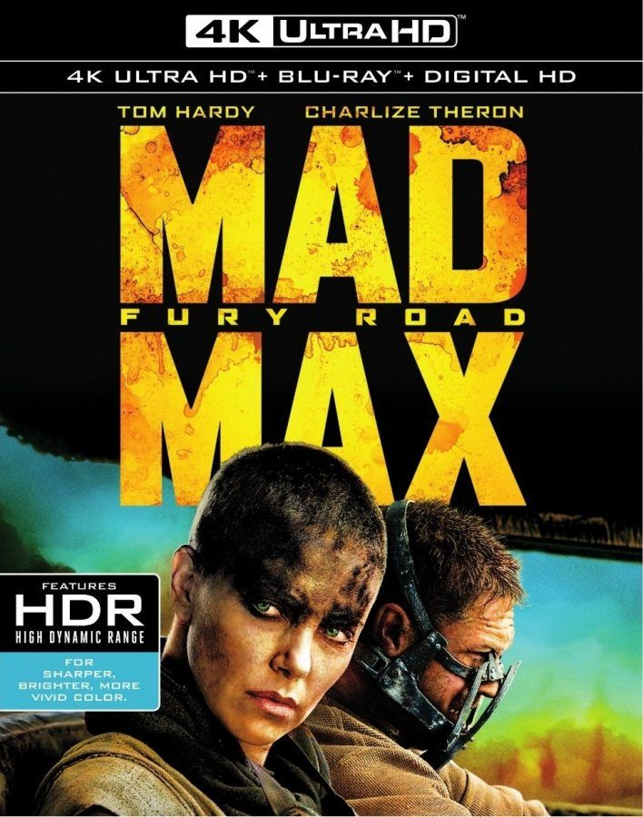 Lo spettacolare e adrenalinico action Mad Max – Fury Road è tra i primissimi titoli ad approdare sul supporto 4K Ultra HD e lo fa in grande stile!  FILM  Ai confini più remoti del nostro pianeta, in un paesaggio desertico e desolato, l'umanità è distrutta e tutti lottano furiosamente per sopravvivere.