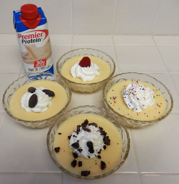 Vanilla Protein Pudding Day!  and other Birthday Treats Post Weight Loss Bariatric Surgery Recipes