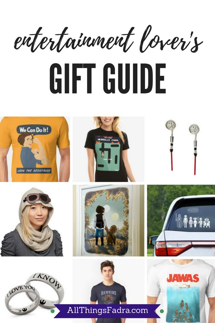 Fadra's Gift Guide for Entertainment Lovers