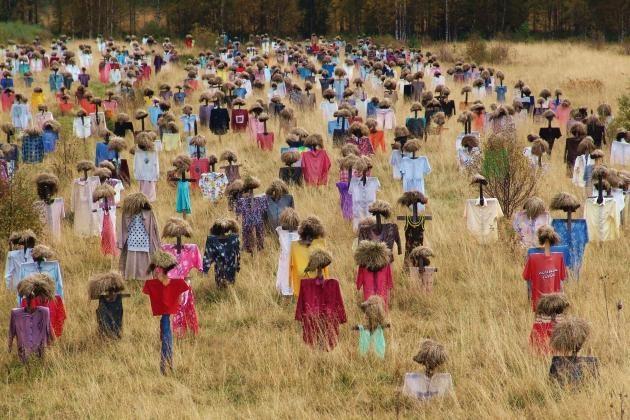 Hiljainen kansa (Quiet people) by Reijo Kela, Suomussalmi, Finland