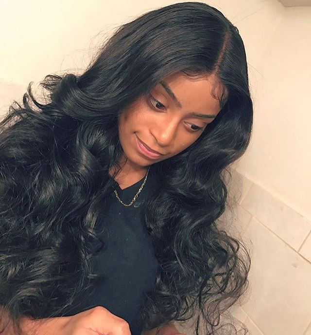 #WhiteLabelHair BodyWave Lace Frontal Installed By @hairbydidrahh_xo