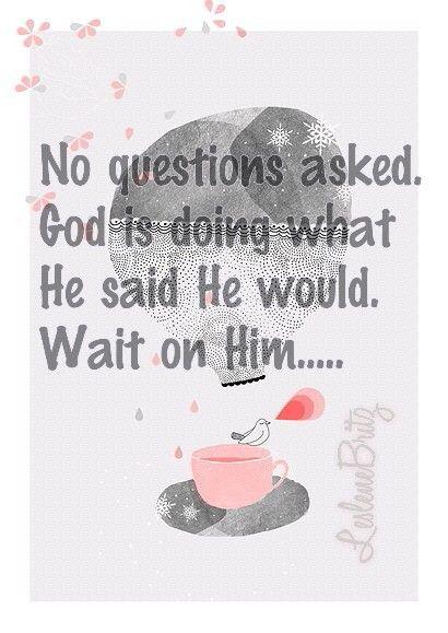 Wait on Him