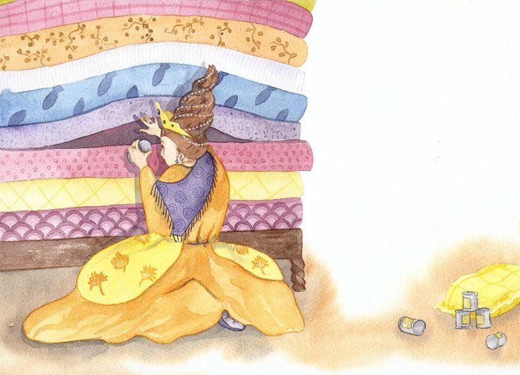 La princesse au petit pois / 2013 - Christelle Lecuret