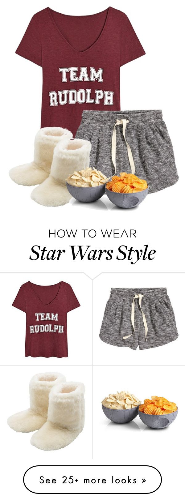"""""""Lazy day (I really want this)"""" by pastel-crowns on Polyvore featuring H&M, M&Co and ThinkGeek"""