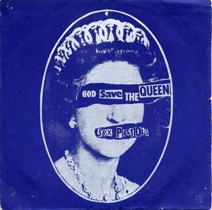 god save the queen - Sex pistols (design: Neville Brody)