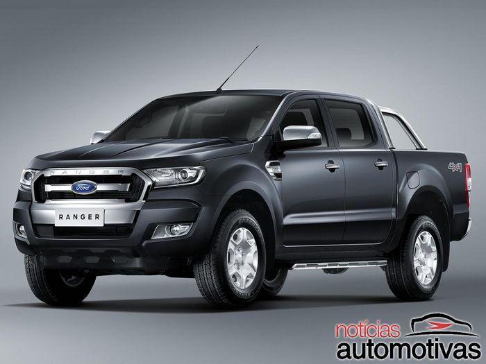 Ford Ranger com visual renovado é apresentada de forma oficial +http://brml.co/1N2IbYx