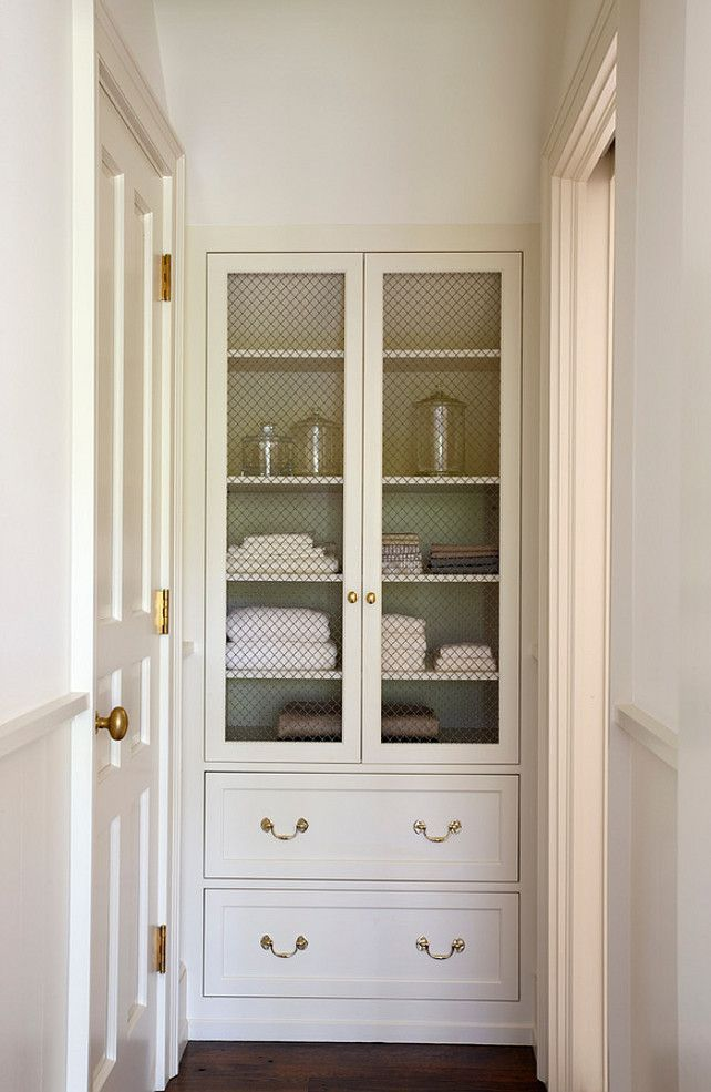 Cabinet Mesh | Linens | Tidy
