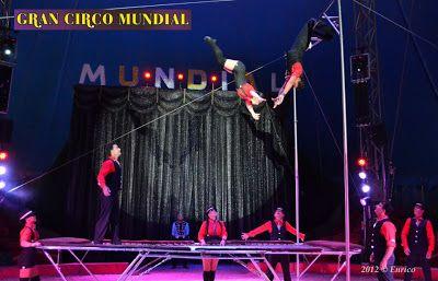 Sevilla Press - Espectacular debut del Gran Circo Mundial en la Feria de Sevilla. - Feria de Abril