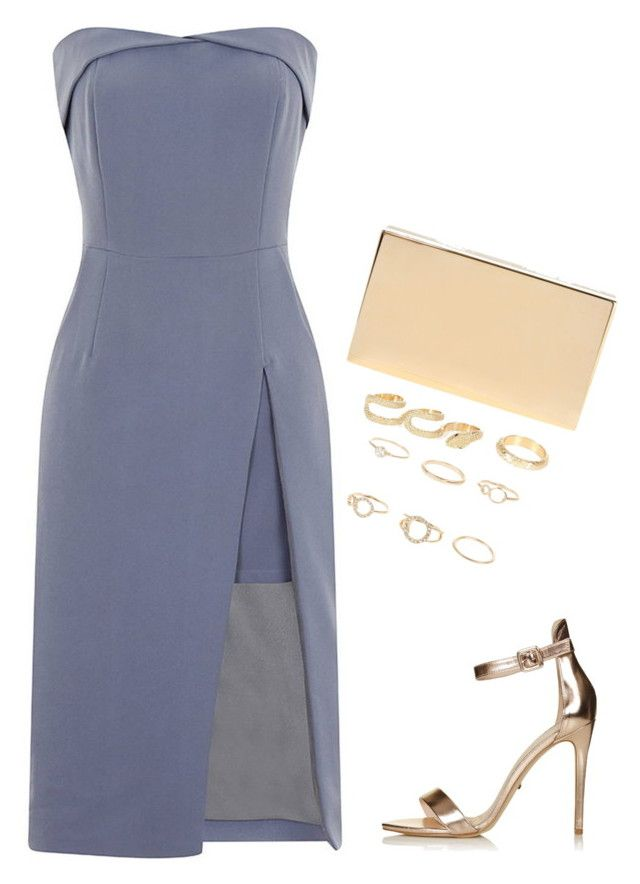 Untitled #13685 by bappple on Polyvore featuring polyvore fashion style Topshop Victoria Beckham River Island clothing