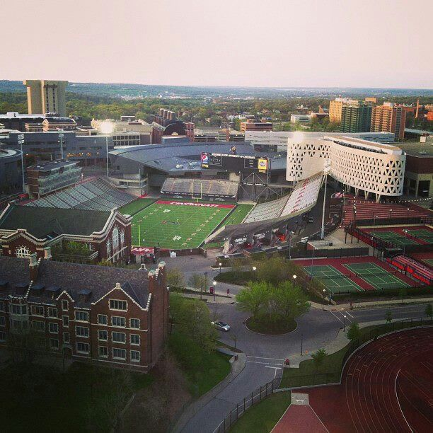 The University of Cincinnati has a beautiful campus and it is easily one that has improved the look of the city.