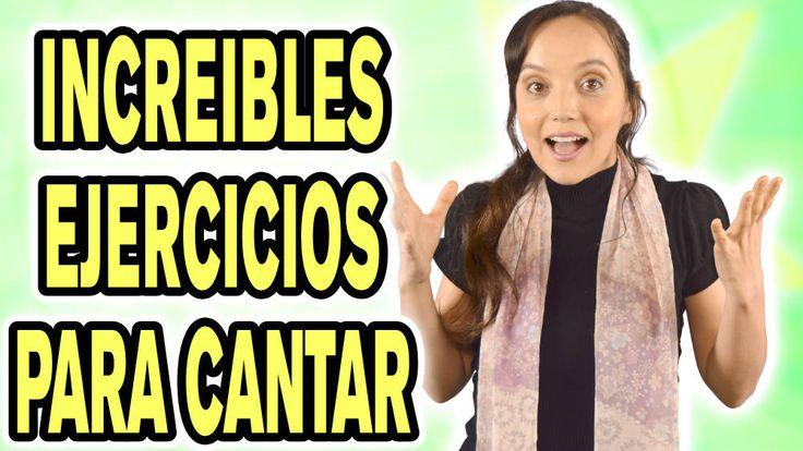 5 EJERCICIOS infalibles para CANTAR BIEN una sola silaba