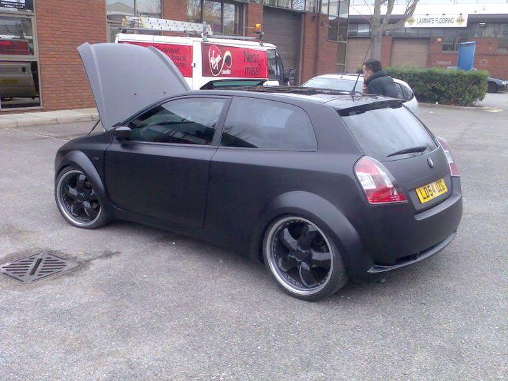 Black FIAT Stilo 5