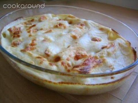 Cannelloni delicati con crema di zucca e ricotta