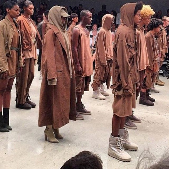 The First Instagrams From Kanye West's Yeezy Season 2 Show Are Here via @WhoWhatWear