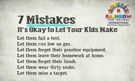 Watching our children make mistakes is painful, and this goes for electrocution as well as broken hearts. Whether they're falling out with friends or off a climbing frame, our instinct is to protect our children. Yet they learn important lessons from making mistakes, and gain confidence when they spring back from them. An important part of emotional intelligence is knowing what to do after you've made a mistake.'Learning to control anger and frustration are the building blocks for coping in…
