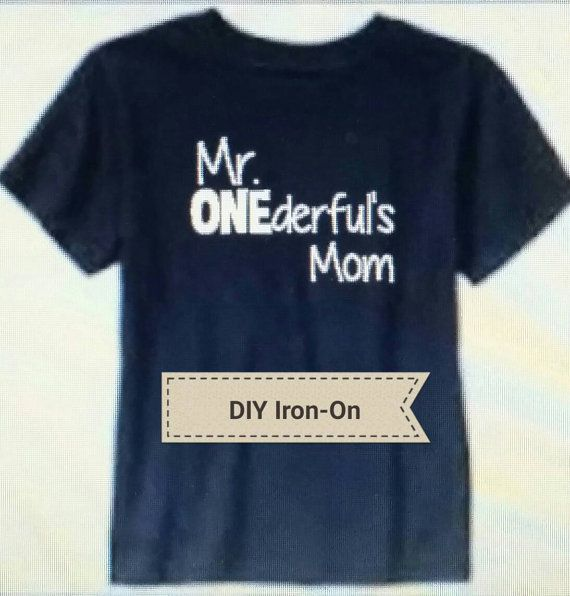 Iron-On Decals Make your own shirt Matching decal by HappyBrooke