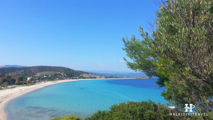 #Ormos #Panagias #beach in #Halkidiki. Visit www.halkidikitravel.com for more info. #HalkidikiTravel #travel #Greece