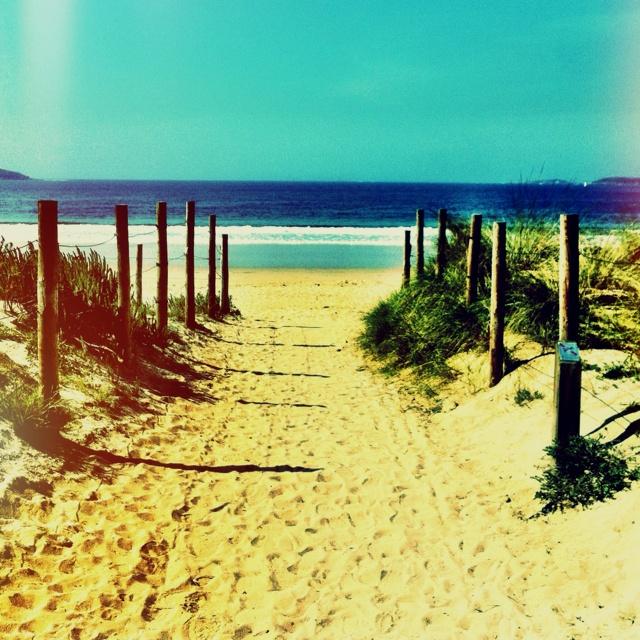 Playa América en Nigrán, Rías Baixas #Galicia