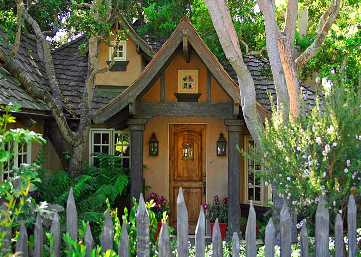 Carmel Cottage overload. This post has a pic of every cute cottage ...