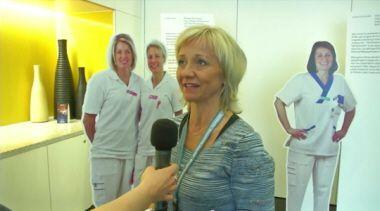 Lisbeth Löpare Johansson guidar i visionsavstämningen
