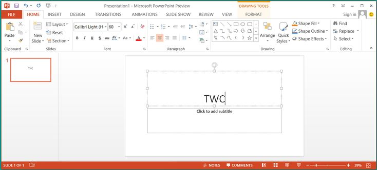 Microsoft PowerPoint 2016 Screenshots