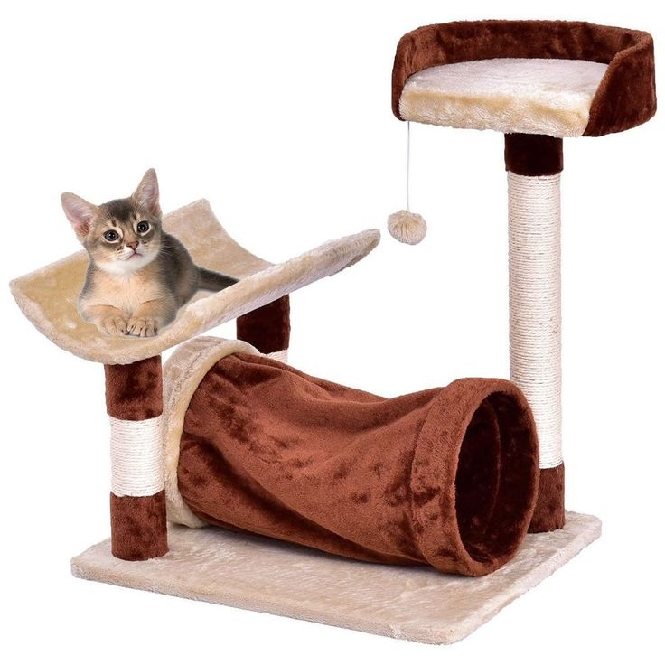 Cheap Cat Tree Tower Bed Layer Scratching Post Activity Center w Hanging Toy NEW