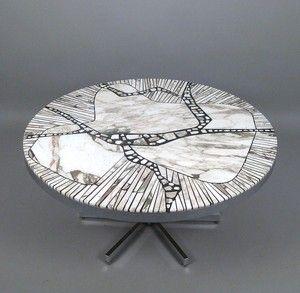 Vara: 4698973Heinz Lilienthal, Brutalist Coffee Table Modell Carara