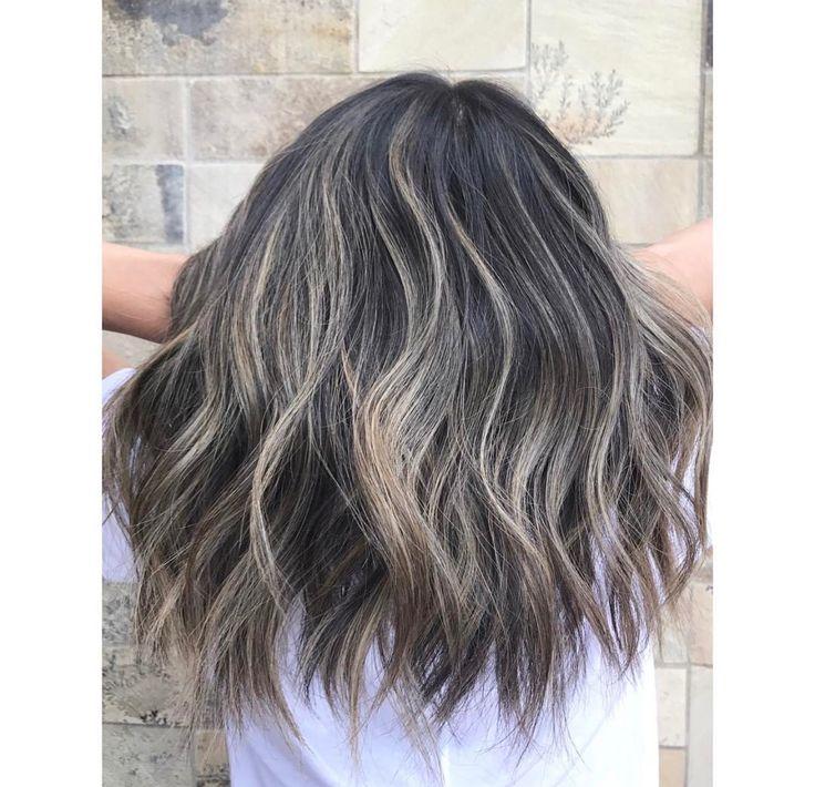 Balayage Hair Brown To Blonde Hair Babylights Root