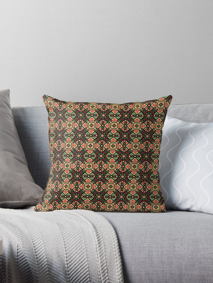 Geometric pattern design based on traditional mexican art. It is a fun ethnic design suitable for all • Also buy this artwork on home decor, apparel, phone cases, and more.