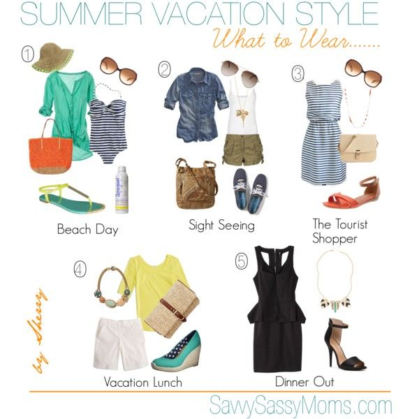 """Summer Vacation {What to Wear}"" by thelifeoftheparty on Polyvore"