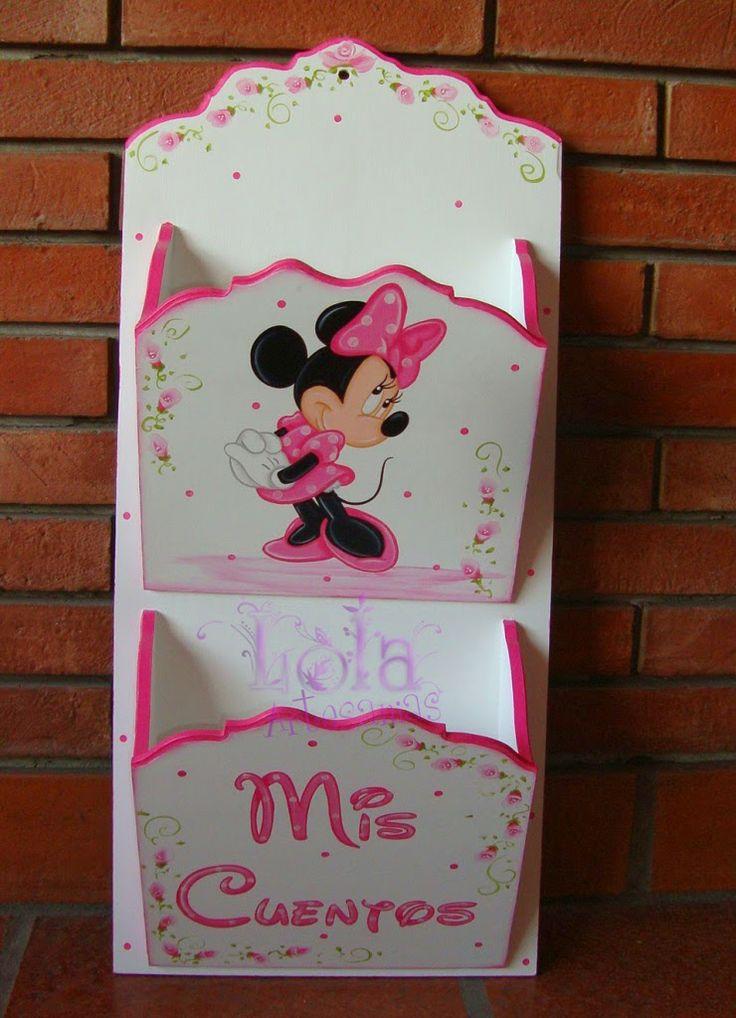 Lola Artesanías: Portacuentos doble de Minnie
