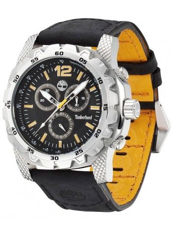 TIMBERLAND front country black leather strap 13318JS-02A http://kloxx.gr/timberland-front-country-black-leather-strap-13318js-02a