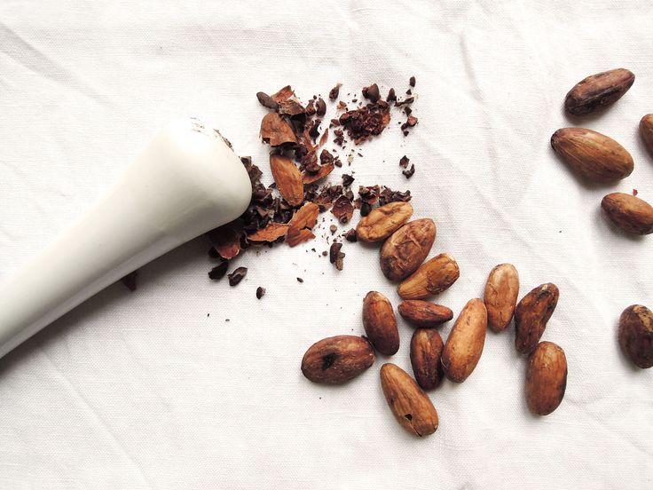 Fèves de cacao cru Bourré de bienfaits pour le corps