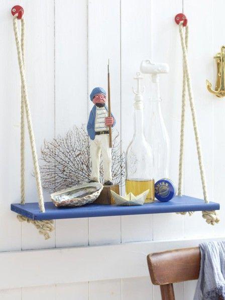 Darf es ein bisschen Meer sein? Wir haben vier einfache Bastelideen für Sie mit denen Sie maritimes Wohngefühl in Ihr Zuhause bringen.