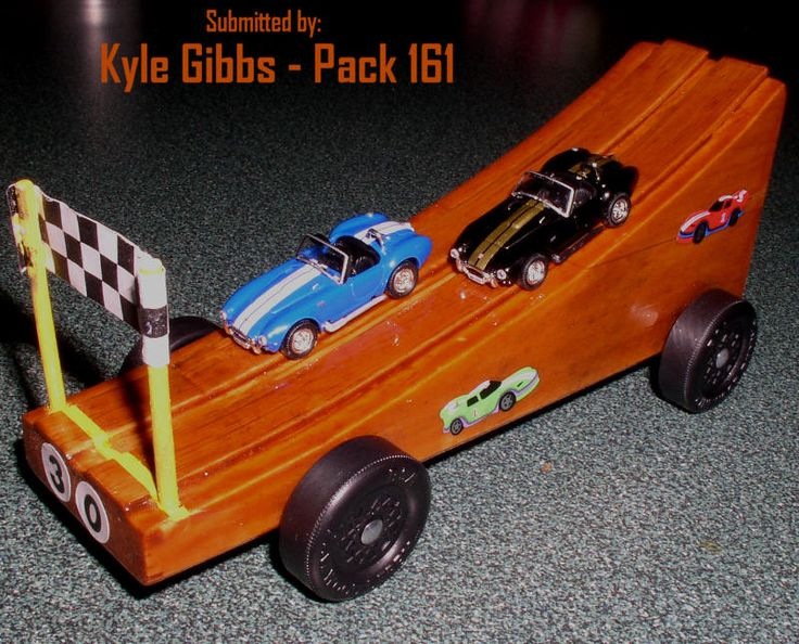 Pinewood Derby Car Scouts Boy Cub Pinewood Derby Space