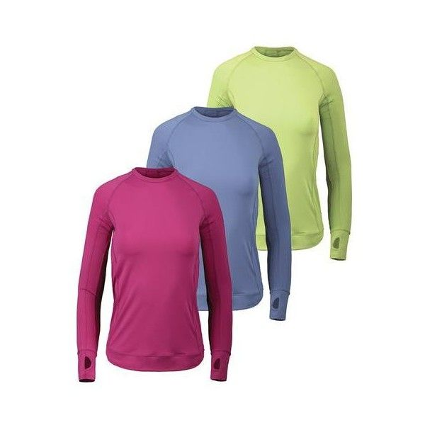 """Stock up on the bloquv Women's Long Sleeve Pullover Tennis Top! This posh top features elongated sleeves, hand coverage and a sleek fit to flatter your figure. You will always be protected against harmful rays with included chemical-free UV protection. Add this crew to your tennis gear today! Read more about UPF protection in our blog """"Best UV Products for Tennis Players: Here Comes the Sun!"""""""