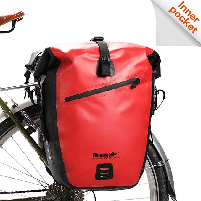Rhinowalk Bike Bag Waterproof Bike Pannier Bag For Bicycle Cargo