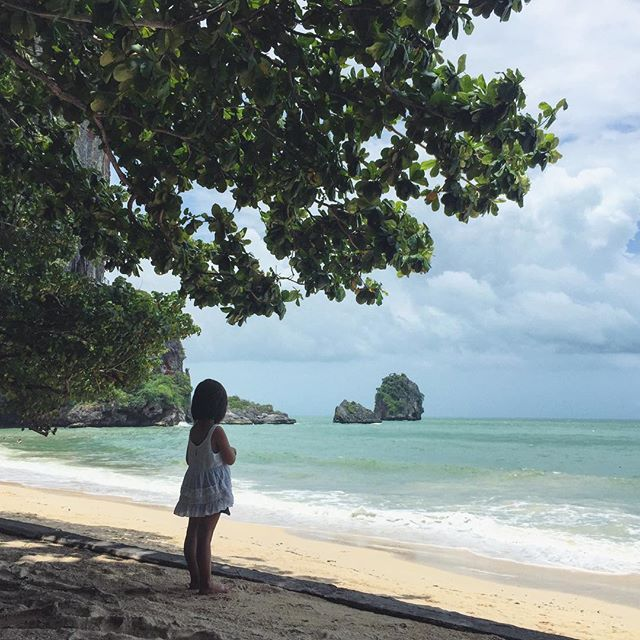 """""""""""Peace I leave with you, My peace I give to you; not as the world gives do I give to you. Let not your heart be troubled, neither let it be afraid"""". John 14:27  Wishing you all a blessed Sunday  #lilbrigs1 + #brigstravels in #brigsdoesthailand @rayavadee_krabi"""" Photo taken by @brigadeirochoc on Instagram, pinned via the InstaPin iOS App! http://www.instapinapp.com (07/13/2015)"""