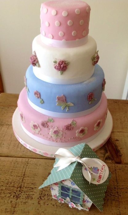 Kath Kidston Inspired Wedding Cake