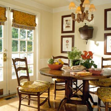 Valance made to look like a shade - great if you don't need light control or privacy.