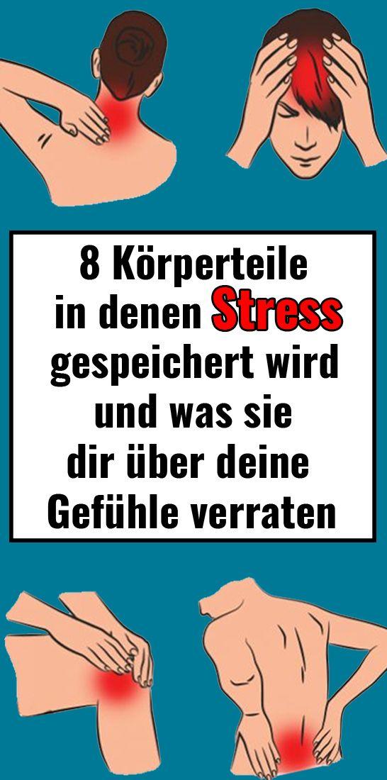 8 Körperteile, in denen Stress gespeichert wird und was sie dir über deine Gefühle verraten – Mechthild Horst