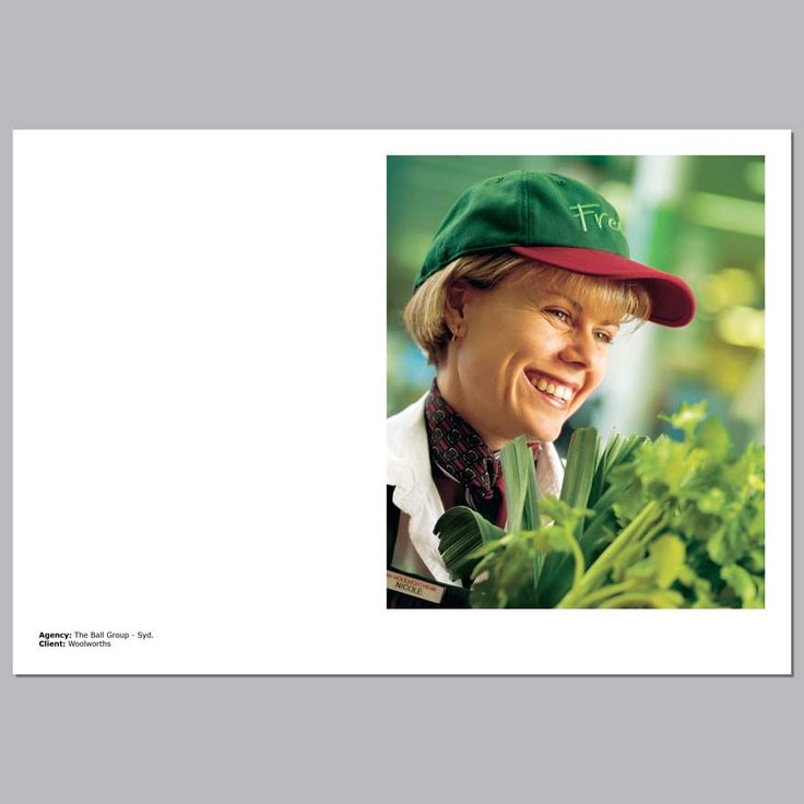Client - Woolworths, Annual Report, New South Wales, Australia
