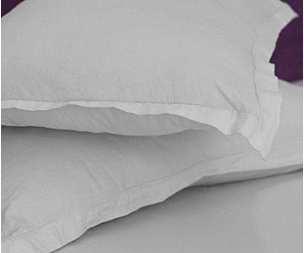 """Shop 42x34-T200 White Standard Pillow Case - Thomaston Thomaston Mills Hotel Supplies White Pillow Cases 42"""" x 34""""  White 3.5 lbs Online At Ramayan Supply.  White Pillow Cases, Hotel White Pillow Cases, Hotel supplies,offers,hotels suppliers,motel supplies,motel suppliers,wholesaler,wholesale pillow cases,"""