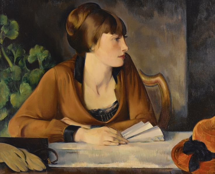 Portrait of Mary Johnson (c.1927). John Theodore Johnson (American.