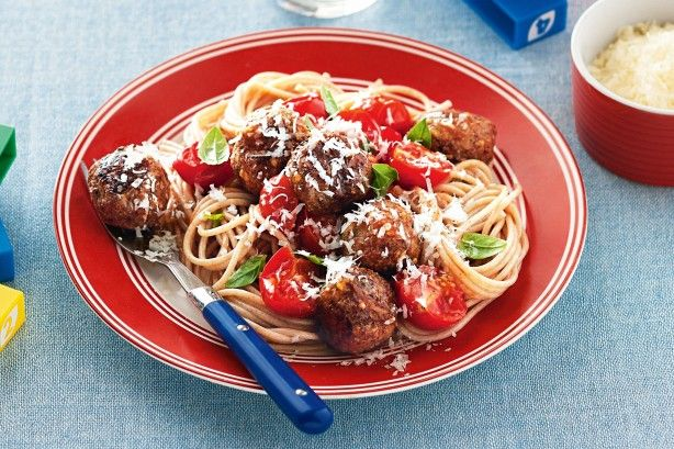 This healthy version of the classic Italian favourite is sure to keep the kids smiling.
