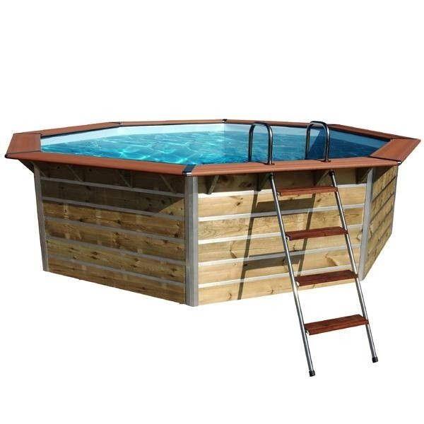 Les 25 meilleures id es de la cat gorie piscine octogonale for Prix piscine coque posee