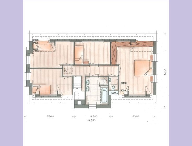 Villabouw Koninginnenpage verdieping